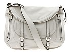 Alexander McQueen - Flapper Messenger (New Biker Grey) - Bags and Luggage