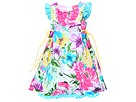 Baby Nay Kids - Summer Breeze Garden Dress (Infant/Toddler/Little Kids) (Floral Print) - Apparel