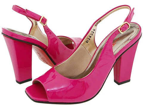 Ros Hommerson - Flower (Fuchsia Softy Patent) - Footwear