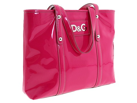 D&G Dolce & Gabbana - Estelle Tote (Pink) - Bags and Luggage