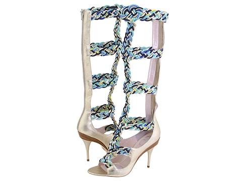 Emilio Pucci - 793912 (Gold Nappa Lame) - Footwear