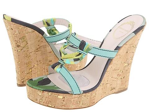 Emilio Pucci - 793919 (Yellow/Water Calf) - Footwear