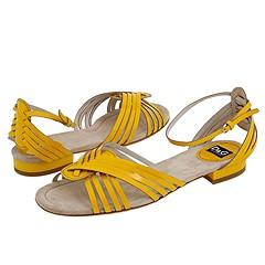 D&G Dolce & Gabbana - Estelle Flat (Yellow) - Footwear