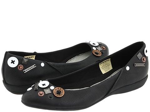 Diesel - Diamonds Adamant Sneaker (Black) - Footwear