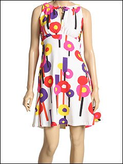 Just Cavalli - Dress With Open Back (Multicolored) - Apparel