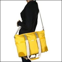 Bikkembergs - BKAM0003A04 NA404 (Yellow) - Bags and Luggage