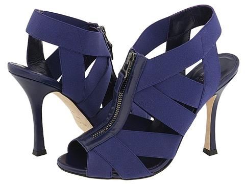 Sergio Rossi - Narrow (Cobalt) - Footwear