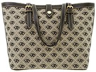 Dooney & Bourke - New Quilt East/West Bucket Bag (Black/Black/Cream) - Bags and Luggage