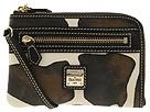 Dooney & Bourke - Giraffe Multi Function Zip Around (Brown T. Moro) - Bags and Luggage