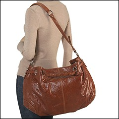Francesco Biasia - Allison - Medium Double Handleshoulder Bag (Country (Cognac)) - Bags and Luggage