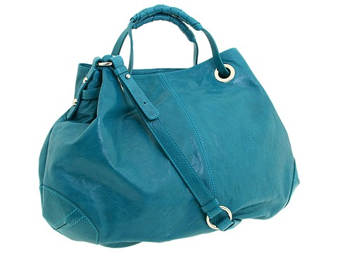 Francesco Biasia - Allison - Medium Double Handleshoulder Bag (Evergreen (Turquoise)) - Bags and Luggage
