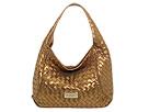 MICHAEL Michael Kors - Metallic Large Shoulder Hobo (Bronze) - Bags and Luggage