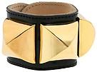 CC SKYE - Giant 3 Stud Bracelet (Black Patent) - Jewelry