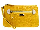 Rafe New York - Shiny Croco Abigail Wristlet (Yellow) - Bags and Luggage