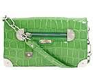 Rafe New York - Shiny Croco Emma Convertible Shoulder (Green) - Bags and Luggage