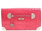 Rafe New York - Shiny Croco Emma Convertible Shoulder (Hot Pink) - Bags and Luggage