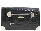 Rafe New York - Shiny Croco Emma Convertible Shoulder (Black) - Bags and Luggage