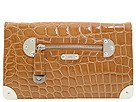 Rafe New York - Shiny Croco Emma Convertible Shoulder (Cognac) - Bags and Luggage