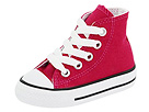 Converse Kids - Chuck Taylor All Star Specialty Hi (Infant/Toddler) (Sangria) - Footwear