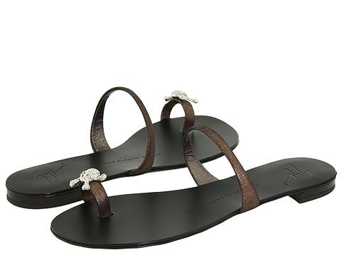 Giuseppe Zanotti - I90180 (Pewter Metallic) - Footwear
