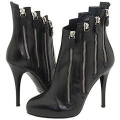 Giuseppe Zanotti Zip It Booties :  womens boots sexy shoes exclusive giuseppe zanotti