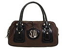Stuart Weitzman - Zipindex (Brown Oiled Nappa) - Bags and Luggage
