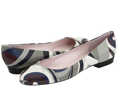 Emilio Pucci - 794188 (Chocolate Mindanao Print) - Footwear