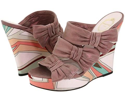 Emilio Pucci - 794936 (Rose Wendy Nappa) - Footwear