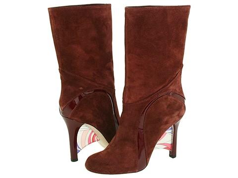 Emilio Pucci - 794942 (Burgundy Beaver) - Footwear
