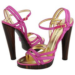 DSQUARED2 B008 (Rayon Pink) - Heel Dress Sandals :  pink dsquared2 b008 rayon pink - heel dress sandals heel rayon