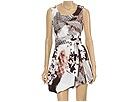 Ports 1961 - Draped Dress With Belt (Caribou Mix) - Apparel