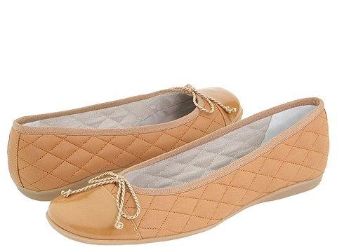 French Sole - PassportR (Camel Patent/Camel Leather) - Footwear
