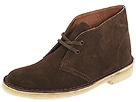 Clarks - Desert Boot (Chocolate Suede) - Clarks Shoes