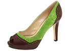 Kate Spade - Gladly (Green Suede/T Moro Goat) - Footwear