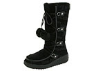 Juicy Couture - Igloo (Black Suede/Faux Fur) - Footwear