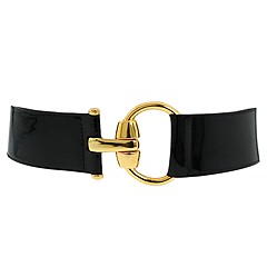 B-low the Belt Milan Patent at Zappos.com :  brass hardware made in usa goldtone hardware patent leather