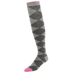 Juicy Couture Knee Argyle Socks
