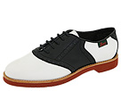 Bass - Enfield (White/Black Leather) - Footwear
