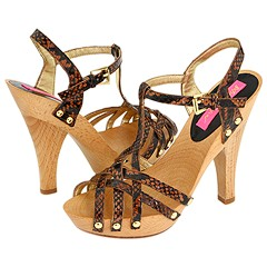 Betsey Johnson Gari Platform Sandals :  betsey johnson platform sandals wood platform wooden platforms