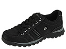 SKECHERS - Replenish (Black Suede) - Footwear