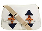 Dooney & Bourke - Large Toggle Bag (White/Navy) - Bags and Luggage