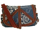Lucky Brand - Peace Keeper Print Messenger (Multi) - Bags and Luggage
