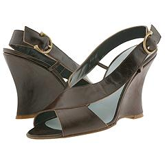 Cynthia Rowley - Runway Wedge (Brown)   Manolo Likes!  Click!