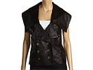 Robert Rodriguez - Leather Vest (Almond) - Apparel