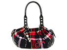 Juicy Couture - Baby Fluffy-Studs (Plaid/Black) - Bags and Luggage
