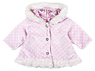 cachcach - Snowball Faux Fur Coat (Infant) (Pink/White) - Apparel