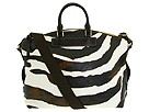 Dooney & Bourke - Zebra Juliette Bag (Brown T Moro Trim) - Bags and Luggage