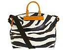 Dooney & Bourke - Zebra Juliette Bag (Mustard Trim) - Bags and Luggage