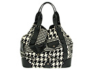 Alexander McQueen - Faithful Large Tote 226166FR73Y (White/Black) - Bags and Luggage