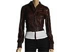 DSQUARED2 - Leather Bomber Jacket (Brown) - Apparel